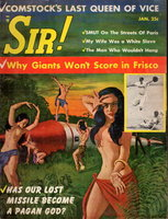 SIR!: A Magazine for Males: January 1958, Volume 14, No. 11. by Sandel, Ardis, editor