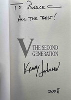 V: THE SECOND GENERATION. by Johnson, Kenneth.