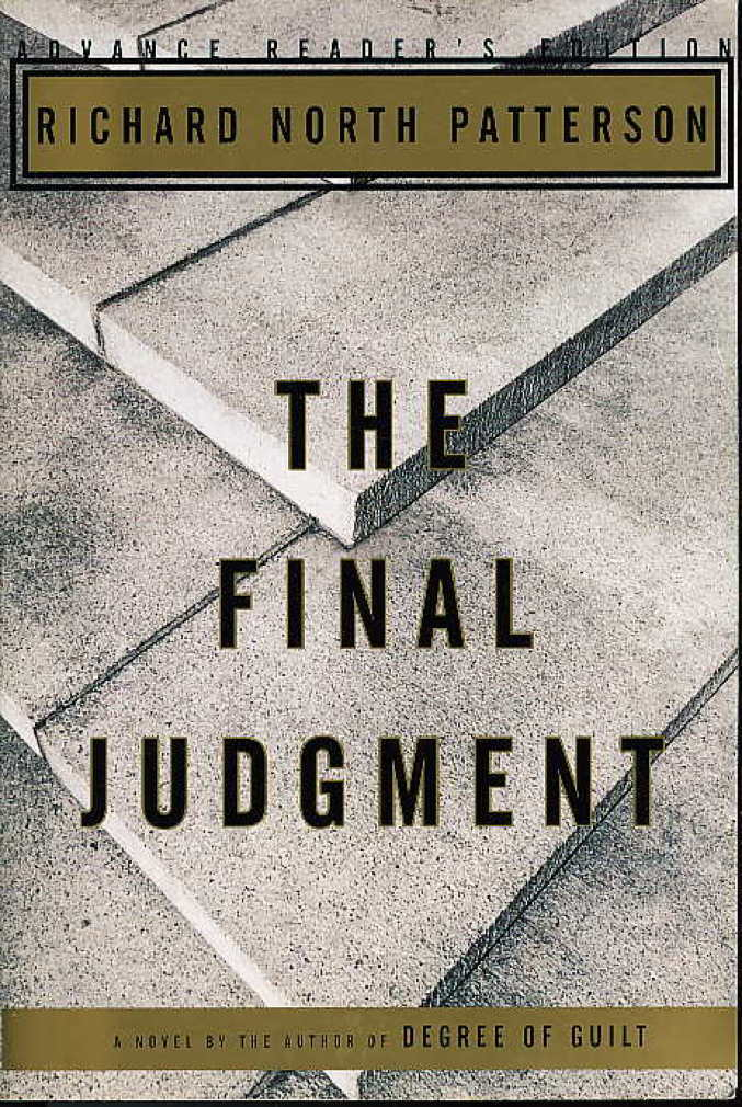 Book cover picture of Patterson, Richard North THE FINAL JUDGMENT New York: Alfred A. Knopf, 1995.