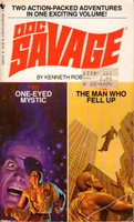 THE ONE-EYED MYSTIC and THE MAN WHO FELL UP: Doc Savage Adventures, #111 & 112. by Robeson, Kenneth.
