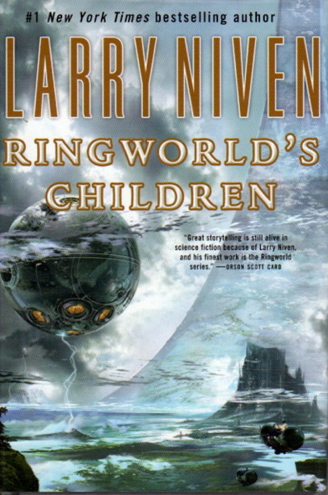 NIVEN, LARRY. - RINGWORLD'S CHILDREN.