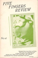 FIVE FINGERS REVIEW: No. 4, 1986. by Laux, Dorianne and Kevin Killian, signed. Addonizio, Kim and Lisa Bernstein, editors.