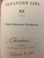 OLEANDER GIRL. by Divakaruni, Chitra Banerjee