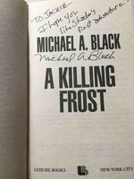 A KILLING FROST. by Black, Michael A.