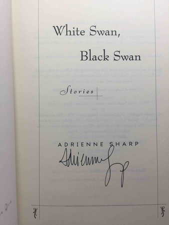 WHITE SWAN, BLACK SWAN. by Sharp, Adrienne.