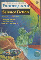 THE MAGAZINE OF FANTASY AND SCIENCE FICTION, March 1977. by Etchison, Dennis, signed.
