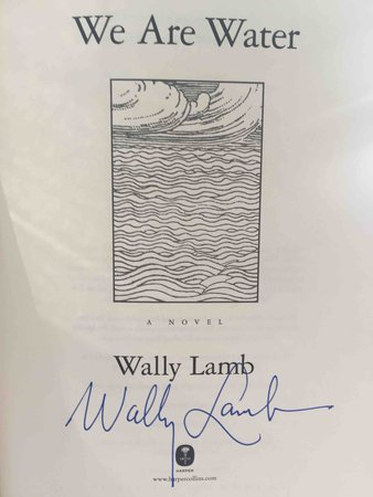 WE ARE WATER. by Lamb, Wally.