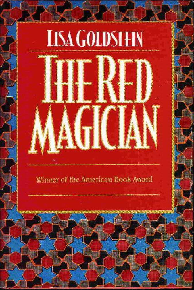 Book cover picture of Goldstein, Lisa THE RED MAGICIAN New York: TOR, 1993.