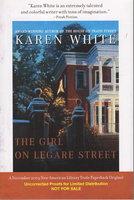 THE GIRL ON LEGARE STREET. by White, Karen.