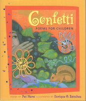 CONFETTI: Poems for Children. by Mora, Pat.