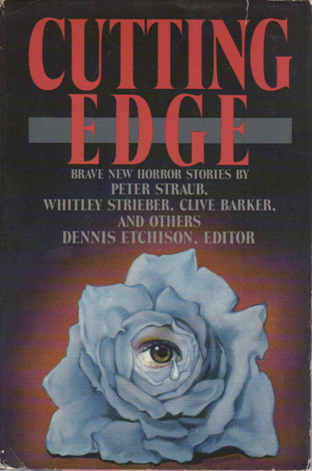 Cutting Edge By Anthology Signed Etchison Dennis Editor Peter