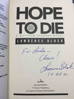 HOPE TO DIE. by Block, Lawrence