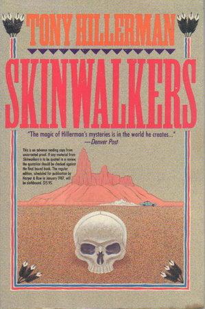 SKINWALKERS. by Hillerman, Tony