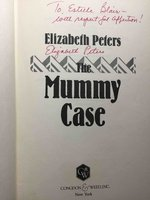 THE MUMMY CASE. by Peters, Barbara.