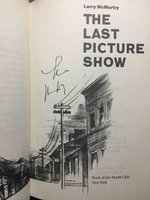 THE LAST PICTURE SHOW. by McMurtry, Larry.