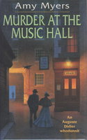 MURDER AT THE MUSIC HALL. by Myers, Amy.
