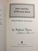 JANE AND THE STILLROOM MAID: Being the Fifth Jane Austen Mystery. by Barron, Stephanie (pseudonym of Francine Mathews.)