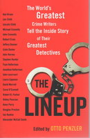 THE LINEUP. by [Anthology - signed] Penzler, Otto, editor. Ridley Pearson, signed.
