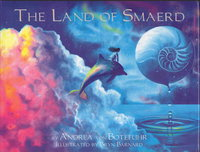 THE LAND OF SMAERD. by Barnard, Bryn, illustrator, signed. Andrea von Botefuhr; mandalas by Angela Russell.