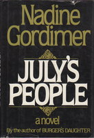 JULY'S PEOPLE. by Gordimer, Nadine.