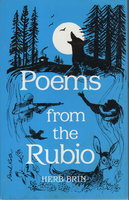 POEMS FROM THE RUBIO. by Brin, Herb.