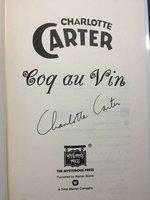 COQ AU VIN. by Carter, Charlotte.