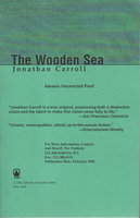 THE WOODEN SEA. by Carroll, Jonathan.
