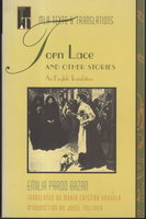 TORN LACE and Other Stories. by Pardo Bazan, Emilia (1852 -1921)
