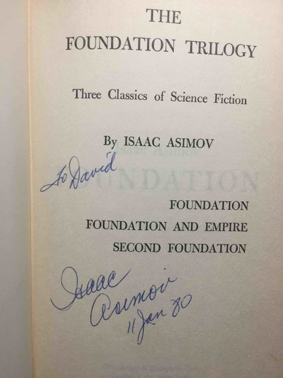 THE FOUNDATION TRILOGY: Foundation, Foundation and Empire, Second Foundation. by Asimov, Isaac