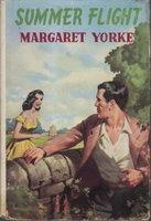 SUMMER FLIGHT. by Yorke, Margaret (pseudonym of Margaret Beda Larminie Nicholson, 1924-2012).