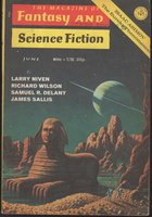 THEY FLY AT CIRON in FANTASY AND SCIENCE FICTION, June 1971, Volume 40, Number 6. by Delany, Samuel R., signed; Ferman, Edward L., editor,