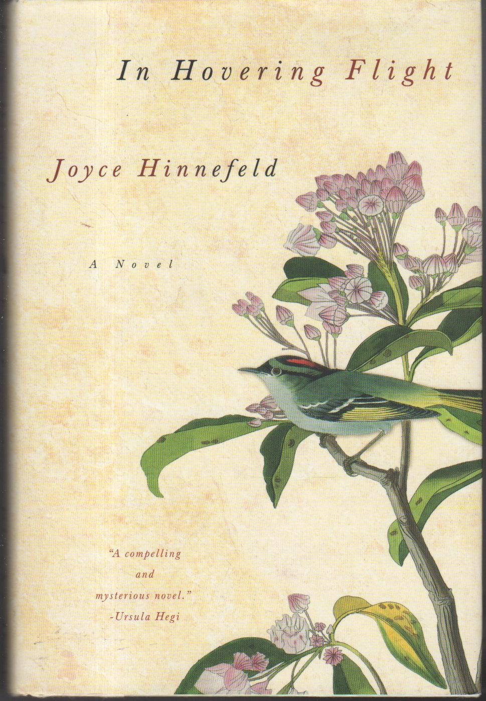 HINNEFELD, JOYCE. - IN HOVERING FLIGHT.