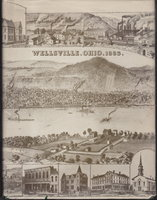 BEFORE THE MEMORY FADES: An effort to capture, record and preserve some of the events past that made Wellsville an important trade and industrial center in early Ohio, 1795 - 1950. by Davidson, Edgar Stanton.