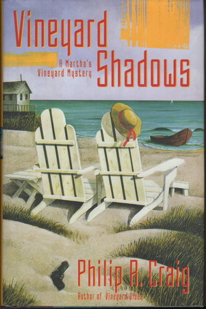 VINEYARD SHADOWS: A Martha's Vineyard Mystery. by Craig, Philip R. (1933-2007)