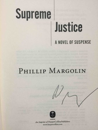 SUPREME JUSTICE. by Margolin, Phillip.