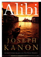 THE ALIBI. by Kanon, Joseph.