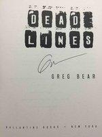 DEAD LINES. by Bear, Greg.