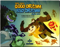 GOOD DREAM, BAD DREAM / SUENO BUENO, SUENO MALO: The World's Heroes Save the Night! by Valentino, Serena and Juan Calle.