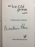 AN ICE COLD GRAVE. by Harris, Charlaine.