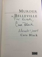 MURDER IN BELLEVILLE. by Black, Cara.