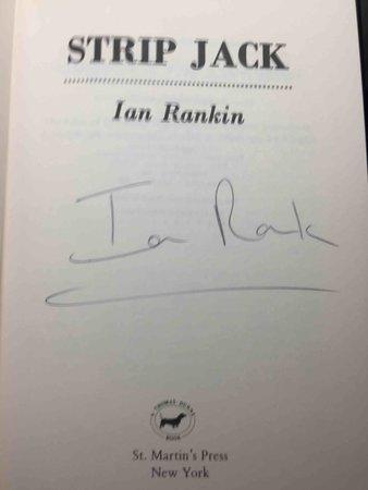 STRIP JACK. by Rankin, Ian