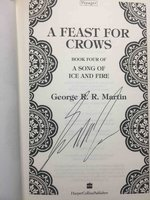 A FEAST FOR CROWS: Book Four of a Song of Ice and Fire. by Martin, George R. R.