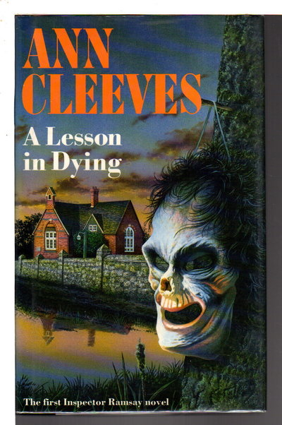 A LESSON IN DYING. by Cleeves, Ann.