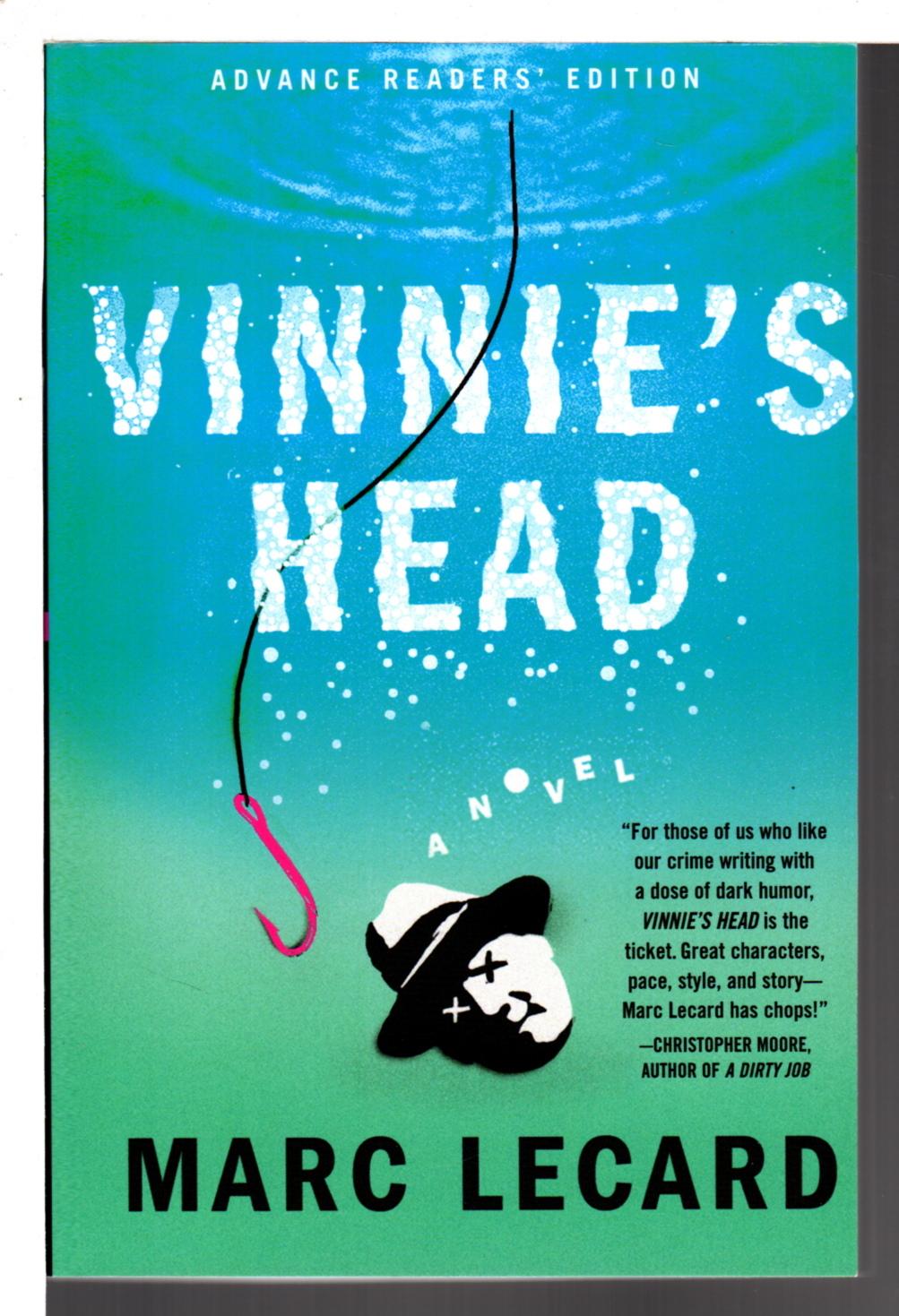 LECARD, MARC. - VINNIE'S HEAD.
