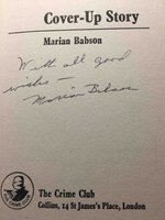 COVER-UP STORY. by Babson, Marion