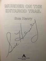MURDER ON IDITAROD TRAIL. by Henry, Sue