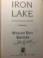 IRON LAKE: A Cork O'Connor Mystery. by Krueger, William Kent.