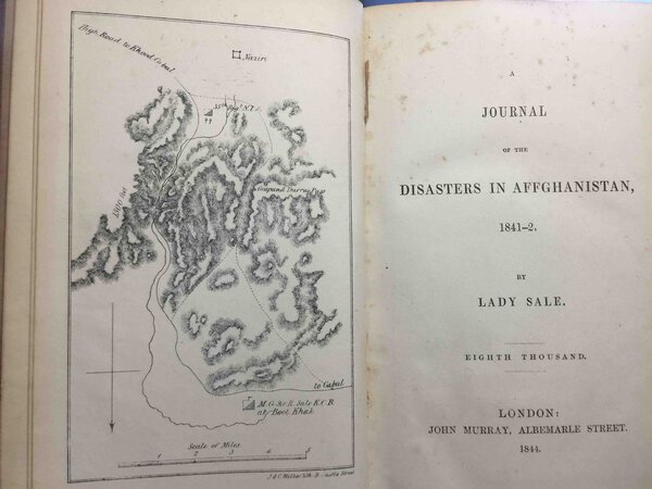A JOURNAL OF THE DISASTERS IN AFGHANISTAN, 1841-2 by Lady Sale [Florentia Wynch]