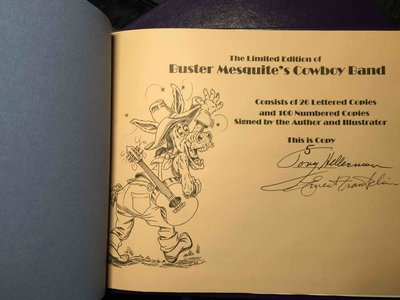 BUSTER MESQUITE'S COWBOY BAND. by Hillerman, Tony; Ernest Franklin, illustrator.