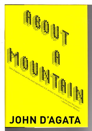 ABOUT A MOUNTAIN. by D'Agata, John.
